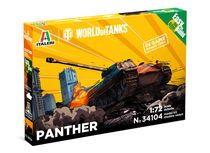 Maquette militaire : World of Tanks kids - Panther - 1:72 - Italeri 34104