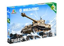 Maquette militaire : World of Tanks kids - Tiger - 1:72 - Italeri 34103
