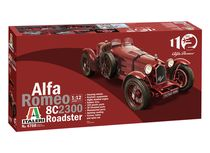 Maquette voiture de collection : Alfa Romeo 8C 2300 Roadster - 1:12 - Italeri 04708 4708