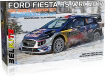 Maquette de voiture : Ford Fiesta RS WRC 2017 ‐ 1/24 - Belkits 012