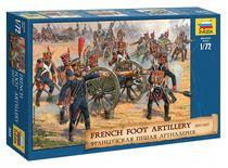 Figurines militaires : Artillerie Française 1812 - 1/72 - Zvezda 08028 8028