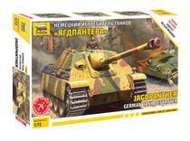 Maquette char d'assaut allemand Jagdpanther - 1/72 - Zvezda 5042