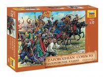 Figurines soldats : Cosaques XVIe‐XVIIIe siècles - 1/72 - Zvezda 08064 8064