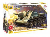 Maquette militaire : SU-122 - 1/72 - Zvezda 5043 05043