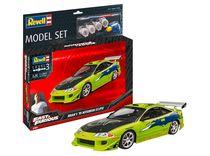 Boîte maquette Voiture : Model Set F&F Brian'S 1995 Mitsubishi Eclipse - 1:25 - Revell 67691