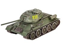 Maquette char d'assaut : T-34/85 - 1/72 - Revell 03302