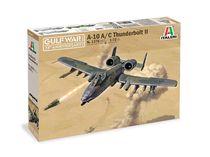 Maquette avion militaire : A‐10A/C Thunderbolt II ‐ Guerre du Golfe - 1/72 - Italeri 01376