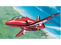 Maquette d'avion militaire : Model Set BAe Hawk T.1 Red Arrows - 1/72 - Revell 64921
