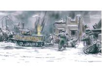 Maquette véhicule militaire : Set bataille de Bastogne - 1/72 - Italeri 06113