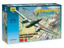 Maquette d'avion militaire : Petlyakov Pe‐2 - 1/48 - Zvezda 04809