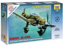 Maquette d'avion militaire : Junker JU878-2 Stuka - 1/72 - Zvezda 07306