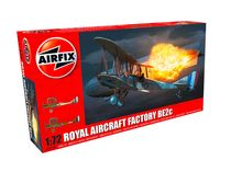 Maquette d'avion militaire : Royal Aircraft Factory BE2c - Night Fighter - 1:72 - Airfix 02101