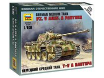 Maquette militaire : Panther Ausf. A - 1/100 - Zvezda 6196