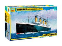Maquette bateau de croisière : R.M.S. TITANIC - 1/700 - Zvezda 9059
