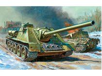 Maquette militaire : Canon automoteur Russe ISU‐122 - 1/72 - Zvezda 5054