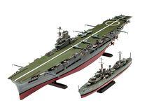 Maquette de navire militaire : HMS Ark Royal & Tribal Class Des - 1:720 - Revell 05149