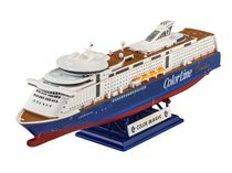 Maquette de navire civil : M/S Color Magic - 1/1200 -Model Set Revell 65818