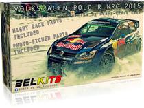 Maquette de voiture : Volkswagen Polo R WRC 2015 - 1/24 - Belkits 010