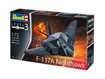 Maquette avion : F-117 Stealth Fighter - 1:72 - Revell 03899
