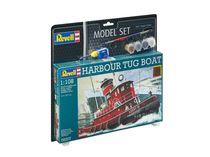 Maquette de navire : Model set Harbour Tug Boat - 1:108 - Revell 65207