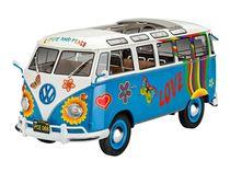 "Maquette de bus : Volkswagen Samba T1 ""Flower Power"" - Revell 7050"