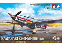 "Maquette avion chasseur Ki-61 I d Hien ""Tony"" 1:72 - Tamiya 60789"
