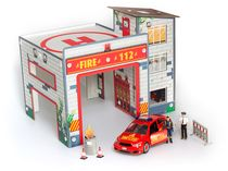 "Junior kit : Playset ""Fire Station"" - Revell 00850"