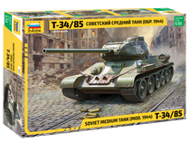 Maquette militaire : Char Russe T-34/85 - 1/35 - Zvezda 3687