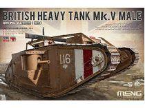 Maquette char lourd britanique MK V Male 1:35 - Meng TS020