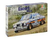 Maquette voiture : Ford Escort RS1800 Mk.II Lombard - 1:24 - Italeri 3650