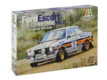 Maquette voiture : Ford Escort RS1800 Mk.II Lombard - 1:24 -Italeri 3650
