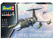 Maquette avion militaire : Model Set F-104G Starfighter - 1:72 - Revell 63904