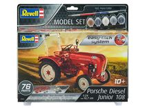 Maquette de tracteur : Model set Porsche Junior 108 - 1/24 - Revell 67820