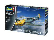 Maquette avion militaire : Messerchmitt BF 109 F-2 - 1:72 - Revell 3893