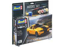 Maquette voiture de course : Model set Ford Mustang GT 2010 - 1:25 - Revell 67046