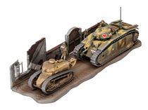 Maquette blindé : Char B.1 Bis & Renault Ft.17 - 1:76 - Revell 3278 03278