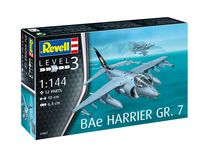 Maquette avion militaire : BAe Harrier GR.7 - 1:144 - Revell 03887, 3887