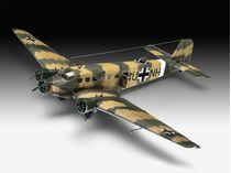 Maquette avion Junkers JU52/3m Transport - 1/48 - Revell 03918 3918