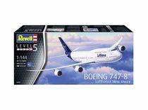 Maquette avion civil : Boeing 747-8 Lufthansa - 1:144 - Revell 3891