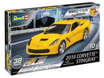 Maquette 2014 Corvette Stingray - 1:25 - Revell 07449, 7449 Easy click