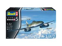 Maquette avion militaire : Me262 A-1 Jetfighter - 1/32 - Revell 3875 03875