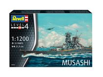 Maquette navire militaire : Model Set Musashi - 1:1200 - Revell 66822
