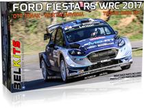Maquette de voiture : Ford Fiesta RS WRC 2017 ‐ 1/24 - Belkits 013