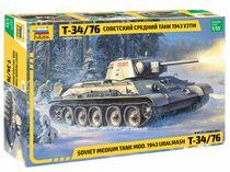Maquette militaire : T-34/76 1943 Uralmash - 1/35 - Zvezda 3689 03689