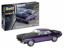 Maquette voiture : Model set 1970 Aar Cuda - 1:25 - Revell 67664
