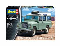 Maquette de voiture : Land Rover Series III - 1:24 - Revell 07047, 7047
