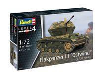 "Maquette militaire : Char anti-aérien III ""Ostwind"" (3,7cm Flak 43) - 1/72 - Revell 03286, 3286"