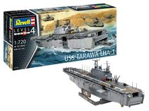 Maquette navire militaire : Assault Ship USS Tarawa LHA-1 1:720 - Revell 05170, 5170 - france-maquette.fr