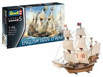 Maquette voilier : English Man O'War - 1:96 - Revell 5429 05429