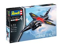 Maquette militaire Dassault Mirage F-1 C / CT 1:72 - Revell 04971, 4971 - france-maquette.fr